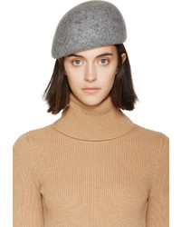 Stella McCartney Grey Wool Beret