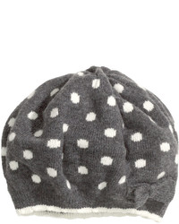 H&M Knit Beret Dark Graydotted Kids