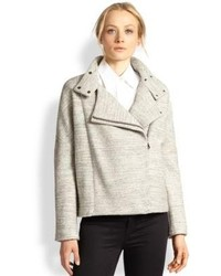 Grey biker jacket original 8877233