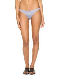 Milly Melange Jersey St Lucia Bikini Bottoms