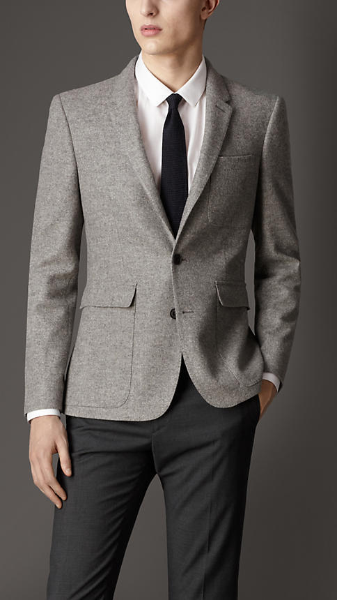 Burberry Modern Fit Rainwear Cashmere Blazer | Where to buy & how ...