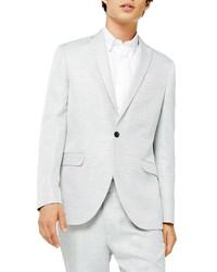 Topman Clay Skinny Fit Twill Suit Jacket