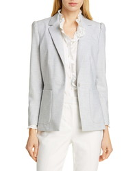 Tailored by Rebecca Taylor Clean Suiting Blazer
