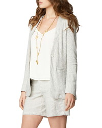 NYDJ Collarless Blazer