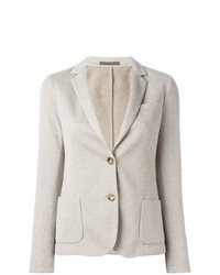 Eleventy Fitted Blazer Jacket
