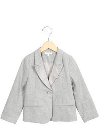 Chloé Girls Pointed Notch Long Sleeve Blazer