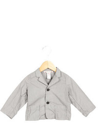Bonpoint Girls Striped Notch Blazer
