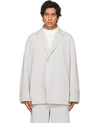 CFCL Grey Milan Rib Enwrap Jacket