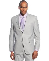Sean John Grey Pindot Jacket