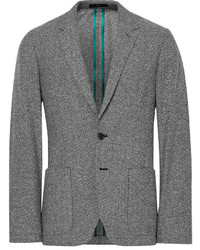 Paul Smith Grey Soho Slim Fit Wool Blend Blazer