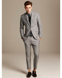 Banana Republic Modern Slim Fit Grey Suit Jacket   Where to buy ...