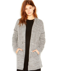 Free People Notched Lapel Double Breasted Casual Friday Blazer