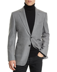 Oconnor base twill sport jacket gray medium 749105