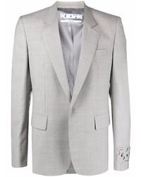 Off-White Single Breasted Blazer