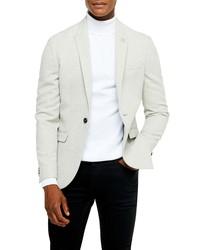 Topman Slim Fit Twill Sport Coat