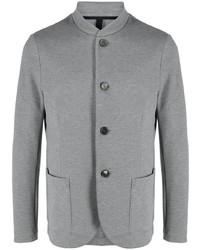 Harris Wharf London Stand Up Collar Single Breasted Blazer