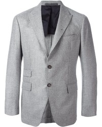 Eleventy Ticket Pocket Blazer