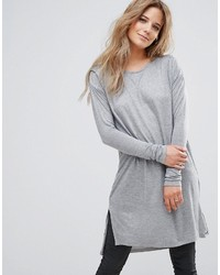 Bellfield Monte Pleat Shoulder Long Sleeved Top