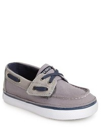 Grey Boat Shoes