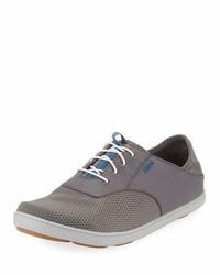 OluKai Nohea Moku Boat Shoe Gray