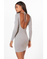 Boohoo Alecta Scoop Back Bodycon Dress