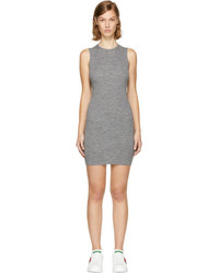 Grey bodycon dress medium 5081873