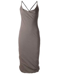 Isabel Benenato Draped Bodycon Dress