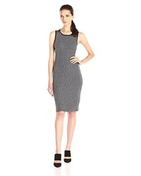 Olive Oak Body Con Midi Dress