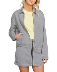 Volcom Frochickie Houndstooth Jacket