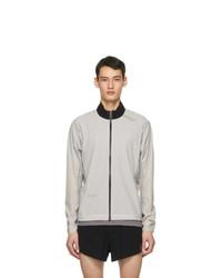 Soar Running Grey Ultra Rain 30 Jacket