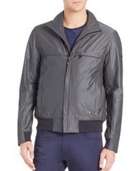 Men s Grey Jackets by Hugo Boss   Men s Fashion   Lookastic.com d1629b9b2dfc