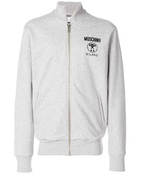 Moschino Logo Zip Front Sweatshirt