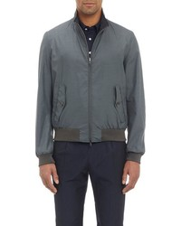 Herno Reversible Bomber Jacket Grey
