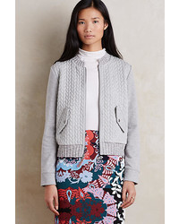 Saturdaysunday Cabled Knit Bomber
