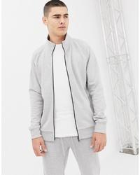 Tom Tailor Track Jacket In Grey