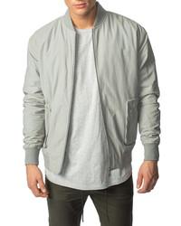 Zanerobe Utility Cotton Blend Bomber Jacket