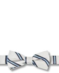 Armani Junior 100% Silk Bow Tie With Velcro Fastening