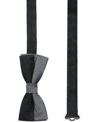 Jack and Jones Jack Jones Fashion Bow Tie Gray
