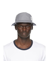 Thom Browne Grey Canvas Classic Bucket Hat