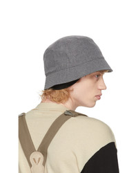 VISVIM Grey Dome Flap Hat