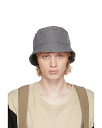 VISVIM Grey Dome Flap Hat