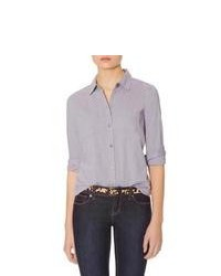 The limited button down shirt grey l medium 79606