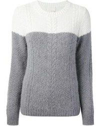 Band Of Outsiders Cable Knit Sweater