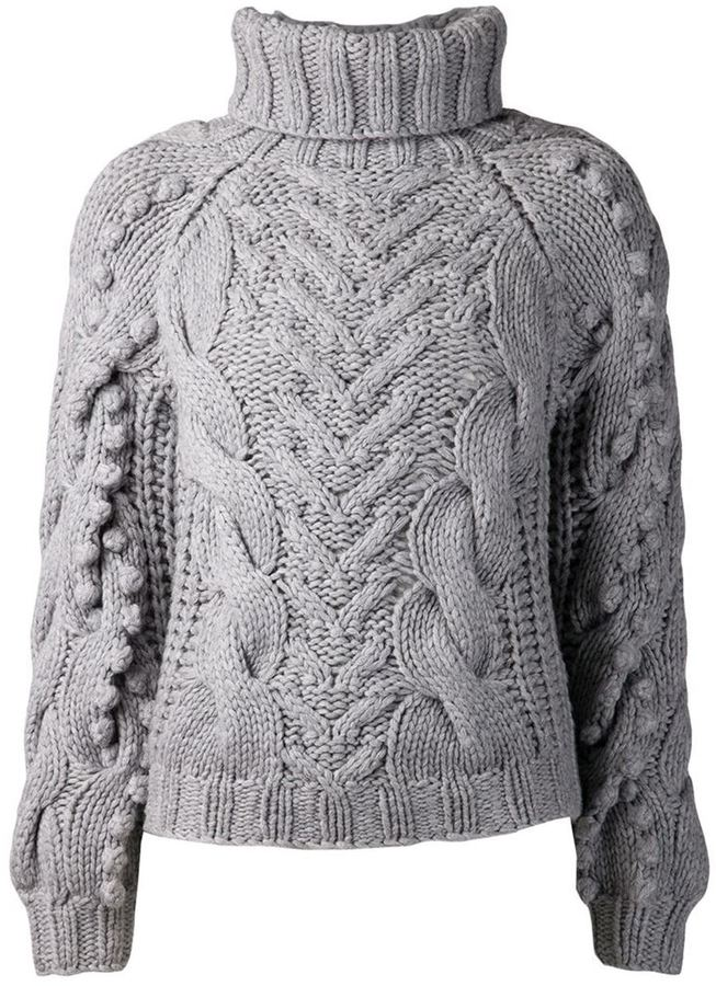Barbara Bui Cable Knit Sweater | Where to buy & how to wear