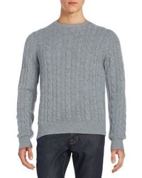 Saks Fifth Avenue Cable Knit Cashmere Sweater