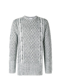 Ih Nom Uh Nit Cable Knit Effect Sweater