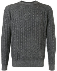 ESTNATION Cable Knit Jumper