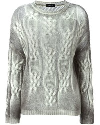Cable knit sweater medium 384198