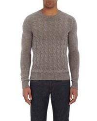 Zanone Cable Knit Sweater