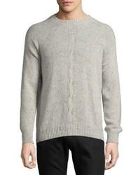 Loro Piana Center Cable Knit Cashmere Sweater